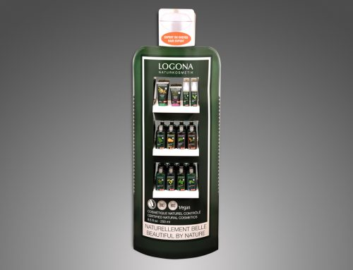 LOGONA – Flaschendisplay 2017